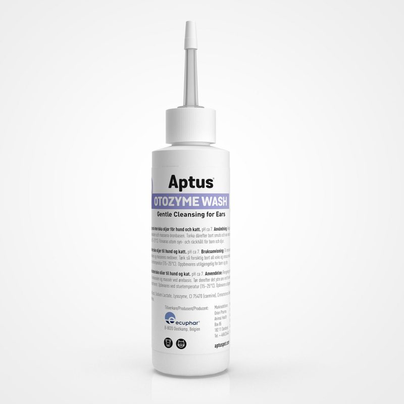 Aptus Otozyme Ear Wash for Cats and Dogs